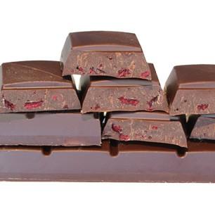 Dunkle-Kirsche-schokolade